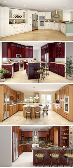 Weston Home Kitchen Cabinets